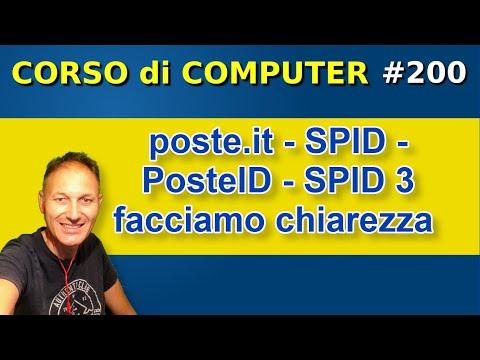 200 poste.it - SPID - PosteID - SPID 3 - facciamo chiarezza | Daniele Castelletti | AssMaggiolina
