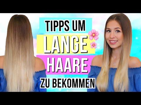 LANGE HAARE BEKOMMEN 💁🏼Tipps um schnell lange Haare zu bekommen - Haar Hacks 2018