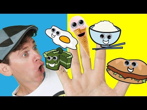 Thumbnail: Food Family Part 2-Finger Family Songs with Matt | Nursery Rhymes | Learn English Kids