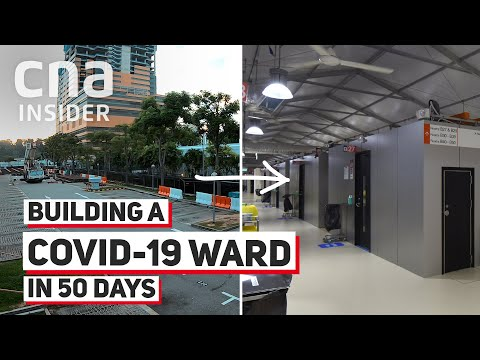 Building A COVID-19 Ward in 50 Days – In A Carpark