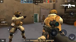 Играем в заклад бомбы в Standoff 2 на андроид.