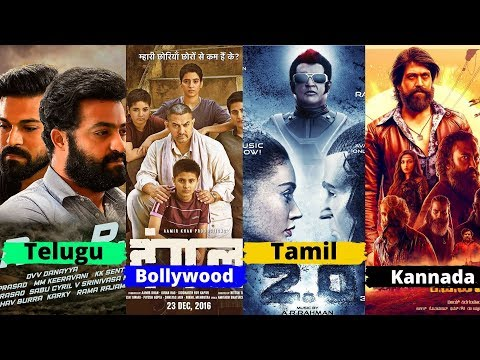 10 Largest Film Industry in India With Their Highest Grossing And Expensive Movie