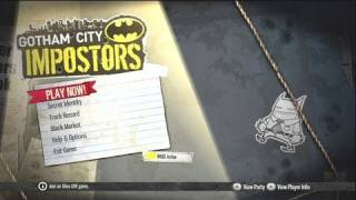 Gotham City Impostors - Angry Impressions