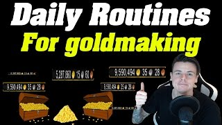 How i Got Rich | My Daily Goldmaking Routines |