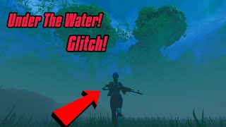 Under The Water On New Leaky Lake Glitch (New) Fortnite Glitches Season 6 PS4/Xbox one 2018
