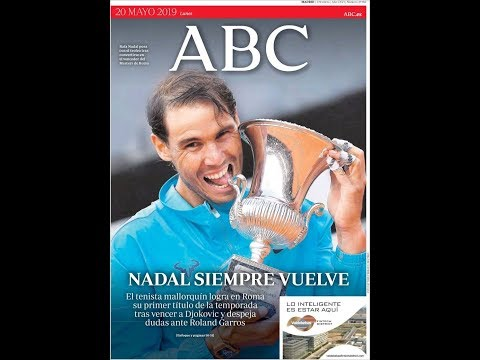#Noticias Lunes 20 Mayo 2019 Principales Titulares Portadas Diarios Periódicos España Spain #News