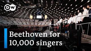 Ode to Joy: 10,000 Japanese sing Beethoven's Ninth Symphony | Music Documentary