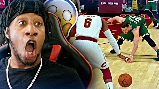 SNAPPED HIS ANKLES BACK TO BACK WITH NEVER BEFORE SEEN DRIBBLE MOVES! - NBA 2K19 MyCAREER