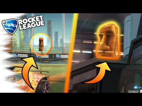 5 Rocket League SECRETS, EASTER EGGS, & GLITCHES You Don't Know! (Mystery Decals, Cars, Facts)