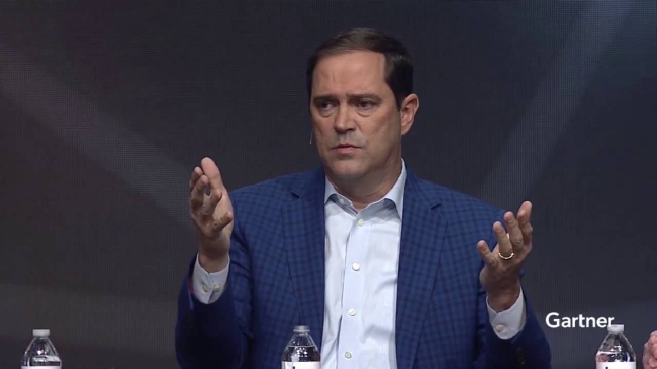Chuck Robbins, CEO at Cisco, Speaking at Gartner Symposium/ITxpo