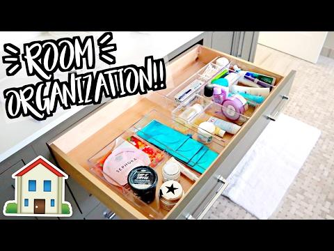 ROOM ORGANIZATION!! Moving Vlogs!!