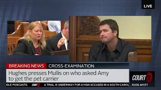 'Go to hell, cheating whore.' Todd Mullis Caught on 911 Call, Alleges Prosecutor On Cross | Court TV