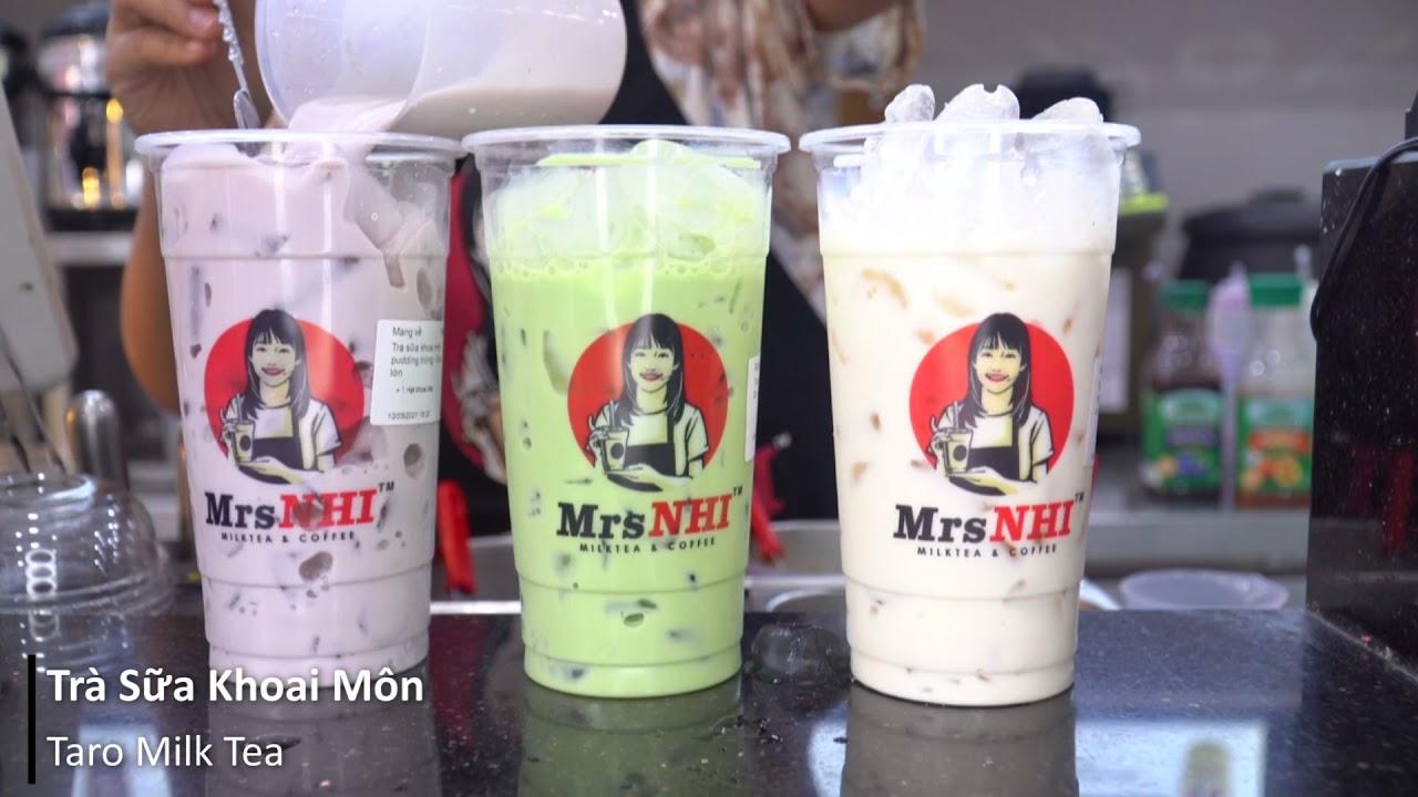 Top Các Loại Món Hot Ở Quán Trà Sữa, Sữa Tươi Trân Châu Đường Đen | Cafe Vlog | Vinbar