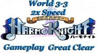 HarmoKnight - Gameplay World 3-3 2x Speed (GREAT CLEAR)
