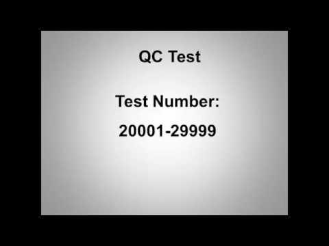 ACON Labs   Mission U500 Urine Analyzer Demo