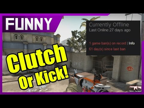 Clutch Or Kick | Episode 6: My Dad Left Me At Chuck E. Cheese's (Counter Strike: Funny Moments)