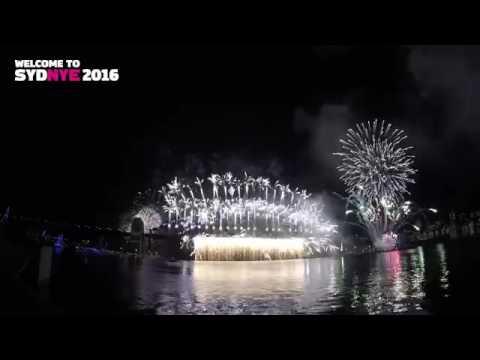 Sydney's Darling Harbour 2017 4K HD   Australia day Fireworks at Sydney