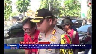 Polres Bogor Imbau Pengguna Sosial Media Tidak Sebarkan Video Korban Pencabulan - iNews Sore 31/08
