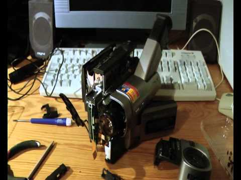 Repairing the Sony CCD-TRV77E Hi8 XR camcorder!
