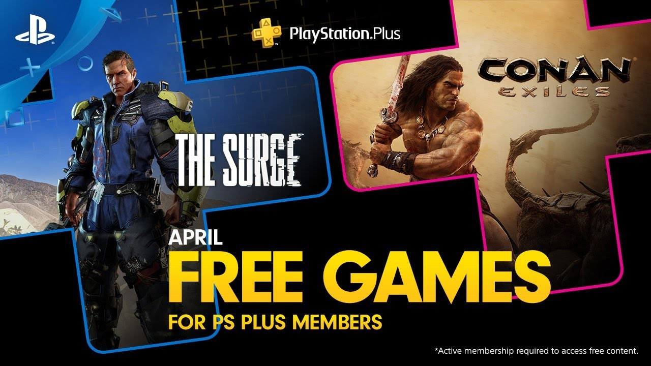 Playstation Plus Free Games Lineup April 2019 Ps4