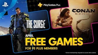 Playstation Plus - Free Games Lineup April 2019 | Ps4