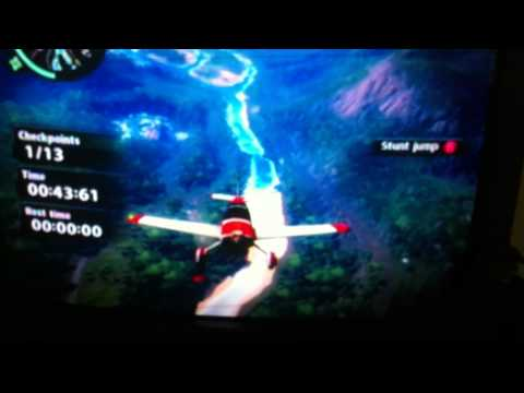 Just Cause 2 the highest skydive