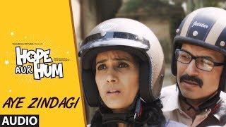 AYE ZINDAGI Full Audio | HOPE AUR HUM | Naseeruddin Shah| Sonali Kulkarni | SONU NIGAM