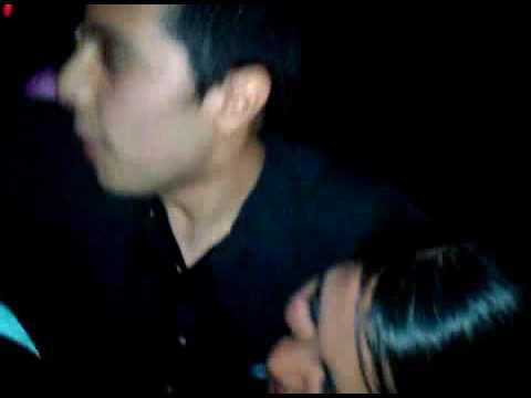 drunk guys kissing