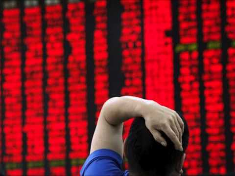 China Share Trading Halted after Stock Market Plunges 7%