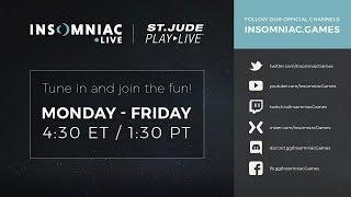 Insomniac PLAY LIVE - Mario Kart 8 Finals! Plus Pie!