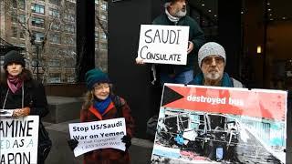 Vigil at Saudi Consulate