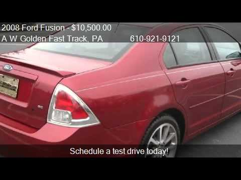 2008 Ford Fusion SE - for sale in Reading, PA 19605
