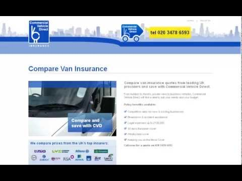 Commercial Vehicle Direct CVD Compare Van Insurance