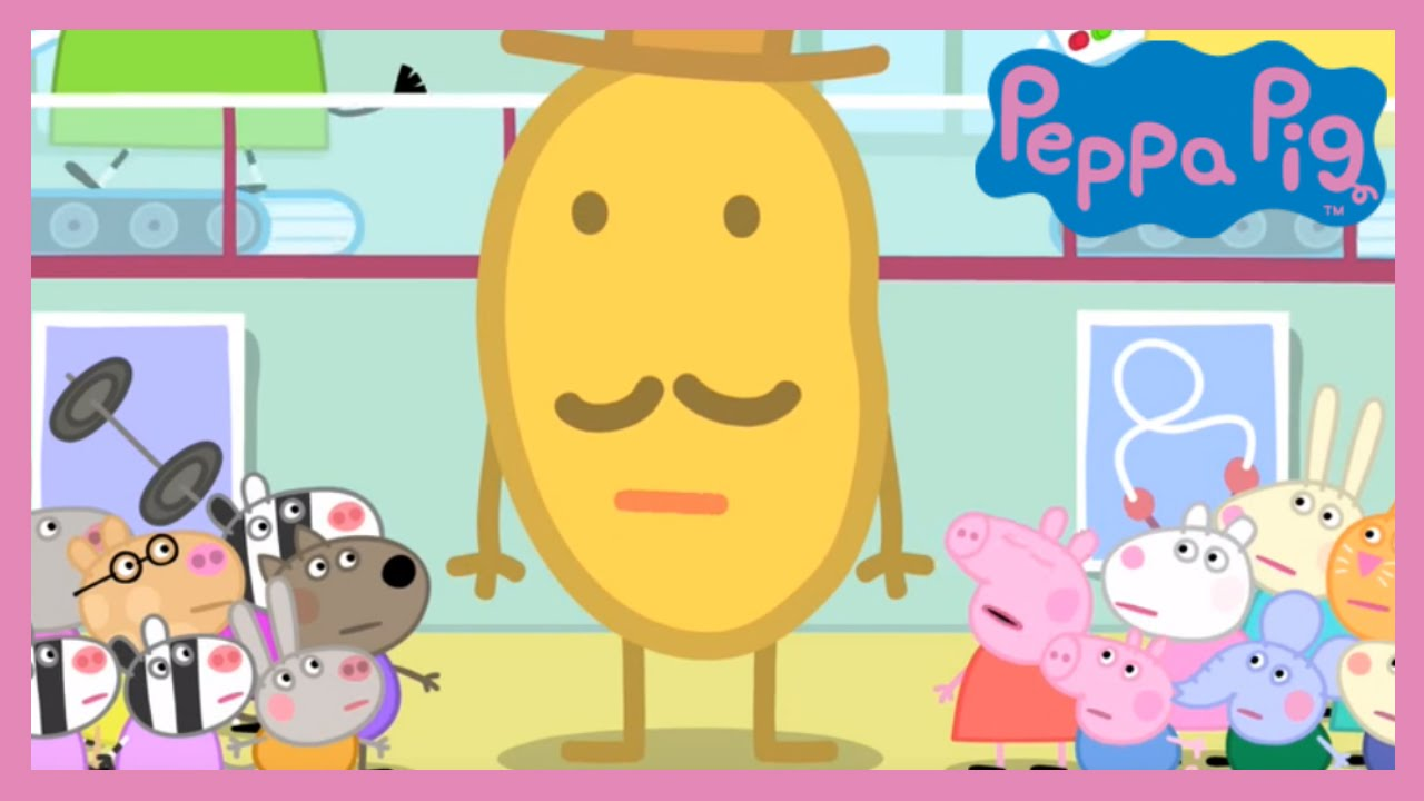 Peppa Pig Mr Potato Head Comes To Town Full Episode