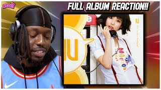 "REACTING TO IU ""Growing Up"" first FULL ALBUM!!"
