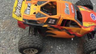 Hpi mt2 4wd nitro testing it out