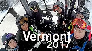 Ski Vermont - Vermont Ski Trip 2017