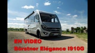 Intégral  Élégance I910G : le camping-car grand luxe de Bürstner