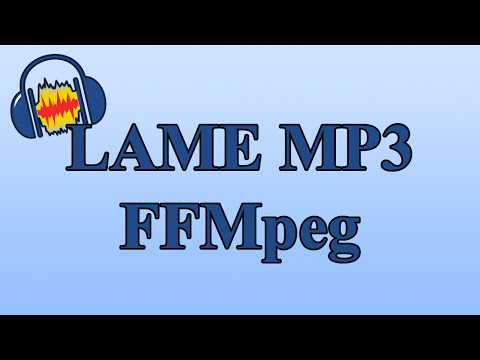 How to Enable LAME MP3 and FFmpeg in Audacity to Export Different File Types