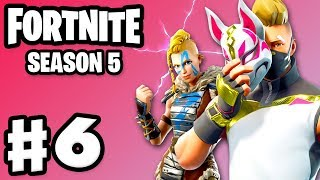 Fortnite - Gameplay Part 6 - Season 5 Battle Pass with Zanitor!