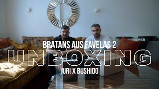 Unboxing von Bratans aus Favelas 2 mit Bushido