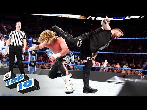 Top 10 SmackDown LIVE moments: WWE Top 10, February 20, 2018