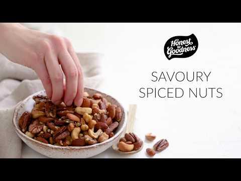 Savoury Spiced Nuts