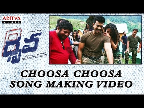 Choosa Choosa Song Making Video || Dhruva Movie || Ram Charan Tej, Rakul Preet || HipHopTamizha
