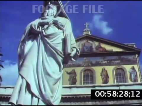 Stock Footage: Rome, Italy, 1980s #8250