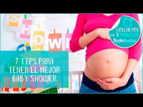 7 tips para un tener el mejor baby shower | Todobebé