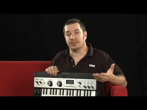 MicroKorg XL Synthesizer/Vocoder Overview And Demo   UniqueSquared.com