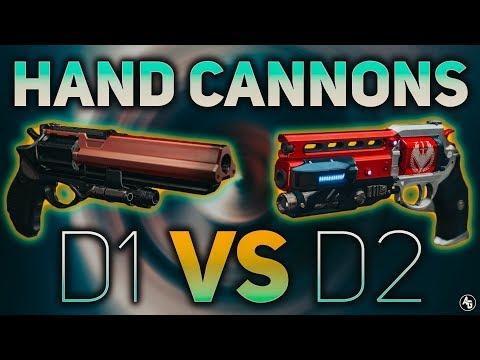 Hand Cannons in D1 vs D2 (Why gunplay in D2 feels worse) | Destiny 2 Sandbox thumbnail
