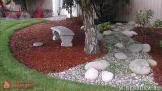 Ландшафтный дизайн дорожек с помощью бетона своими руками (фото и видео)