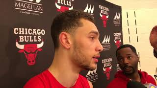 Zach LaVine provides an update on his health and how he is integrating with the Bulls | ESPN